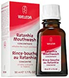 Best Organic Mouthwashes - Weleda 50ml Organic Ratanhia Natural Mouthwash Concentrate Review