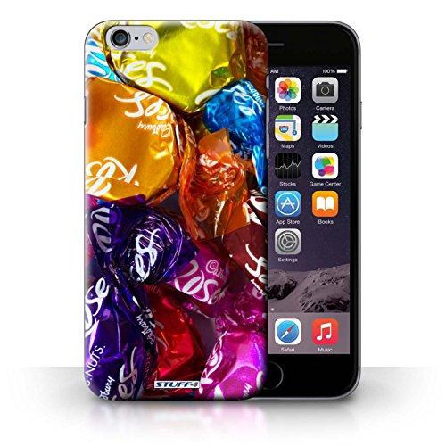 Kobalt® Imprimé Etui / Coque pour iPhone 6+/Plus 5.5 / Smarties conception / Série Bonbons Roses