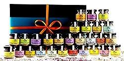 Gewürzbox mit 28 verschiedenen Spezialitäten in der Geschenkschachtel aus der Finca Marina Gewürzmanufaktur