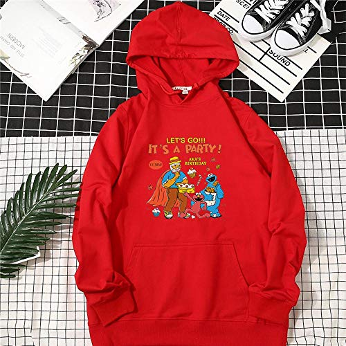 Kapuzenpullover Männer Und Frauen Sesame Street Sweater Jacken Frühling Und Herbst Sweatshirts (Bruder Und Schwester Themen Kostüm)