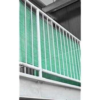 balkon sichtschutz 0 90 x 5 meter rauchgrau. Black Bedroom Furniture Sets. Home Design Ideas