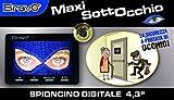 mirilla Digital Electrónico Maxi en observación pantalla 4,3LCD Zoom 8X