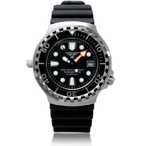 Eichmüller >> Army Watch << Taucheruhr 100 ATM