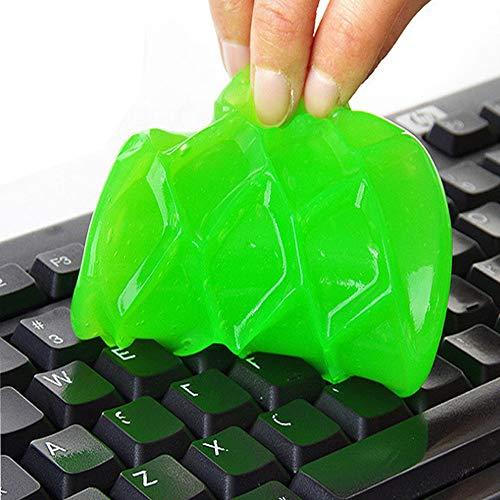 Gummi-laptop-tasche (Myhonour Tastatur Reinigung Tastaturreiniger Staub/Schmutz-Entferner für Gitarre, Tastatur, Computer, Auto, Laptop, Cyber Putty Super Silikagel, Gummi-Staub-Reiniger (Zufällige Farbe))