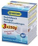 Aire y Deshumidificador de ambiente HUMYDRY Compacto Paquete de recarga 3x250g