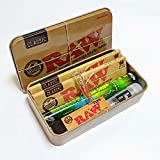 SMO KING x RAW Loud Pack - RAW Classic Tobacco Stash Tin, Papers and exclusive G Tip