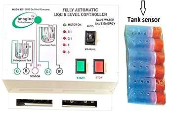 Wireless Water Monitoring Water Tank Level Sensor Pump