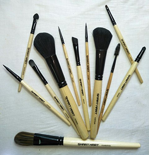 Smart Mart 12 piece Makeup Brush Set - Long size