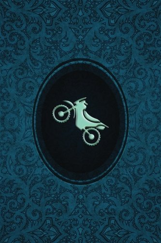 Monogram Motocross Notebook: Blank Journal Diary Log: Volume 61 (Monogram Cerulean 150 Lined) por N.D. Author Services
