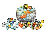 #1: Zaid Collections 80 Pcs Of Glass Marbels With Shooter Unique Collection ( 500 Grams)