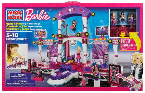 Mega Bloks Barbie 80247 Mega Rock Star