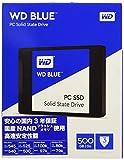 WD Blue 500GB  interne SSD Festplatte SATA 6 Gbit/s 2,5 Zoll (7mm). Optimiert für Multitasking und ressourcenintensive Anwendungen. WDS500G1B0A