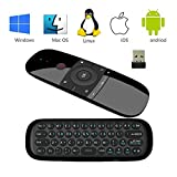 2,4 GHz Air Mouse Wireless Mini Tastatur mit Maus Spiel Griff Android Fernbedienung Für Kodi TV BOX Windows Android TV Box PC Gyro Sensing