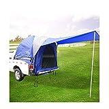 ZGQP Impermeabile Doppio Strato Grande Spazio Pick-up Camion Tenda baldacchino Wigwam Campeggio Auto Tenda di Coda Auto da Pesca Tenda Tetto Auto Tenda for la Lunghezza 5-6,7 Piedi Camion