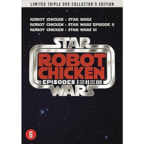 Star Wars: Robot Chicken Episodes 1 2 3 - Limited Triple DVD Collector's Edition by Rachael Leigh Cook