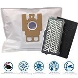 20 Staubsaugerbeutel + 1 Hepa- & 1 Motorfilter geeignet für Miele S4 EcoLine im Vorteilspack von Microsafe®