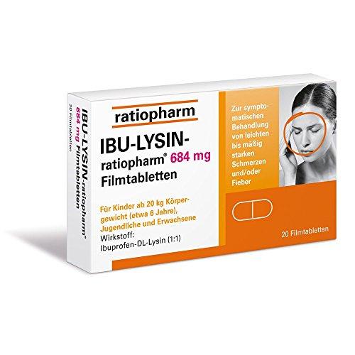 IBU-LYSIN ratiopharm684 mg, 20 St