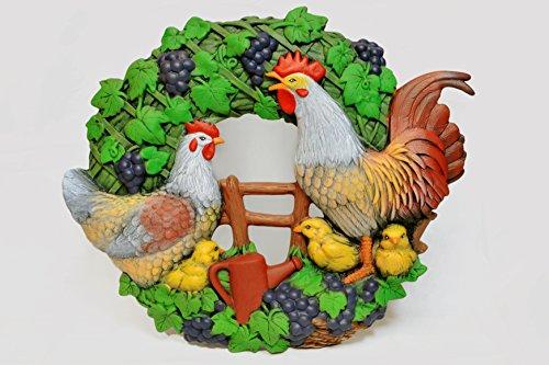 Figure en céramique peinte à la main pour la maison et décor de jardin