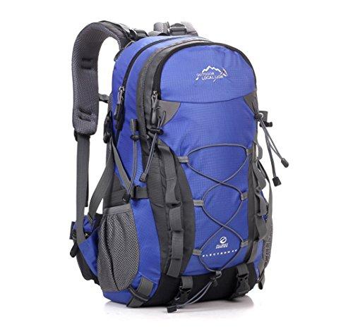 Cuckoo Unisex Rucksäcke Im Freien Wandern Klettern Freizeit Trekkingrucksäcke Outdoor Taschen Radfahren Reiten Reisetaschen Blau