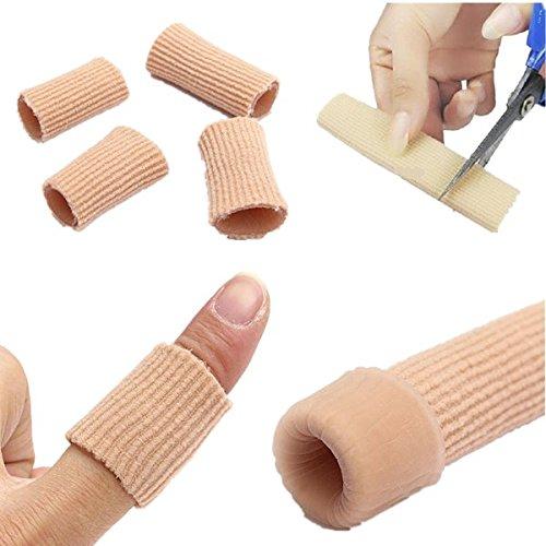 CAMTOA Gel-Schlauchbandagen Finger- / Zehenschutz , zum Zuschneiden, schmerzlindernd,zur Vermeidung von Blasen H¨¹hneraugen