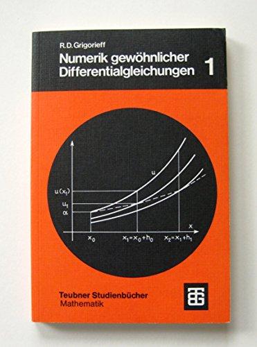 Numerik gewöhnlicher Differentialgleichungen.