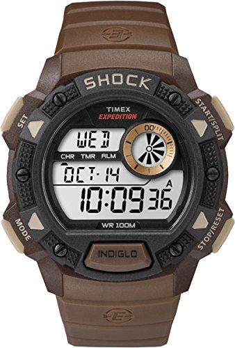 Timex TW4B07500 - Reloj de pulsera para hombre, de cuarzo, con esfera digital y correa de resina
