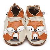 Weiche Leder Baby Schuhe Fuchses 6-12 monate