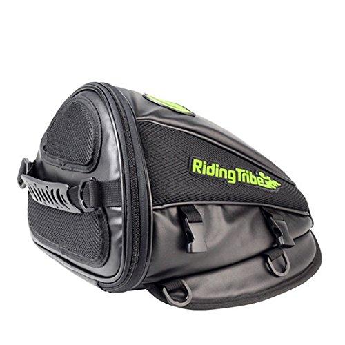 Imagen de bj global equitación tribe motocicleta montar de piel bolsas de viaje herramienta cola bolsa impermeable equitación bolso  bolsa del depósito de aceite