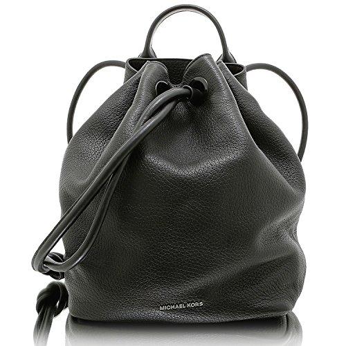 Michael Michael Kors Dalia grande mochila de piel en color negro