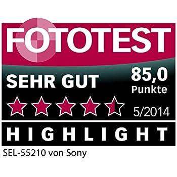 Sony SEL55210 E Mount APS-C 55-210 mm F4.5-6.3 Telephoto Zoom Lens - Black