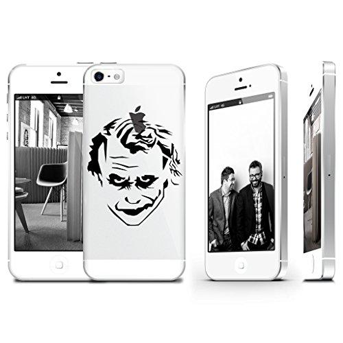 Joker Transparenten Kunststoff Phone Case Handy Cover für iPhone 66S supertrampshop
