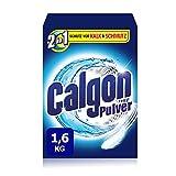 Calgon 2in1 Pulver, Wasserenthärter gegen Kalk & Schmutz in der Waschmaschine, 1er Pack (1 x 1,6 kg)