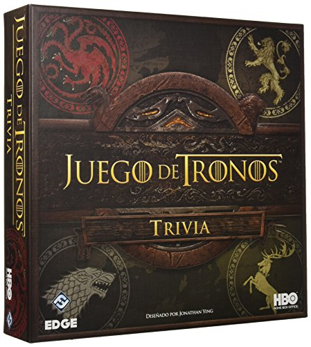 Fantasy Flight Games- Juego Tronos Trivia FFHBO10