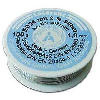 VSE 420160 Solder Wire, 1.0 mm, ED26S, S-SN62PB36, DIN EN29453-1 1.1.2.B, 100 g