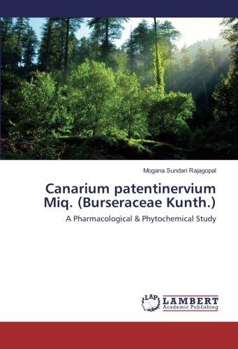 Canarium patentinervium Miq. (Burseraceae Kunth.): A Pharmacological & Phytochemical Study