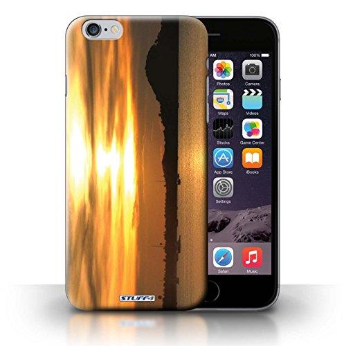 Kobalt® Imprimé Etui / Coque pour iPhone 6+/Plus 5.5 / bateaux conception / Série Coucher du Soleil bateaux