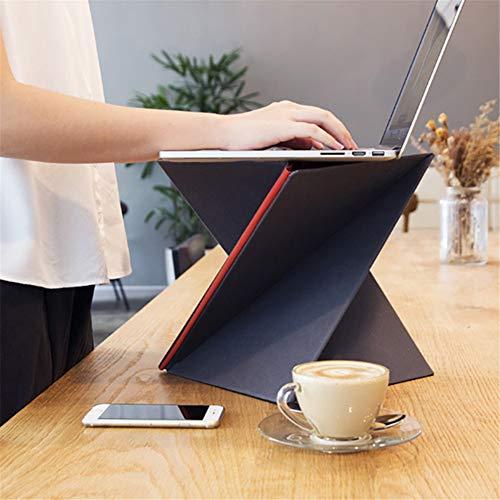 PEIQI HOME Sit-Stand Workstation, Sitz-Steh-Schreibtisch Aufsatz Für Bürotisch & Computertisch,...