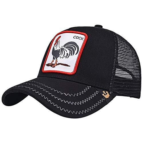 Imagen de lddendp rooster icon personalidad marea hip hop de los hombres deportes al aire libre correr senderismo comodidad sudadera transpirable  de béisbol sombrero de verano sombrero de sol sombrero de