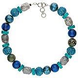 langani Halskette Ouranos Damen-Kette schwarzen Perle Handmade Since 1952 17