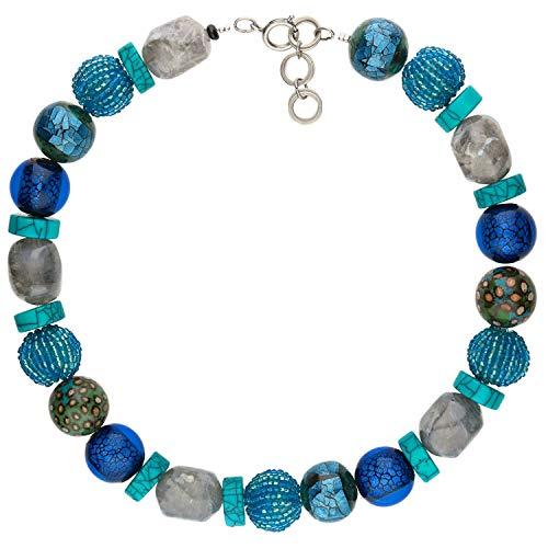 langani Halskette Ouranos Damen-Kette schwarzen Perle Handmade Since 1952 6