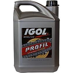 GT Garden Huile de chaîne filante IGOL pour tronçonneuse et élagueuse - 5 litres