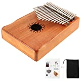 Donner Kalimba 17 Clé Pouce Piano Acajou Doigt Instrument DKL-17