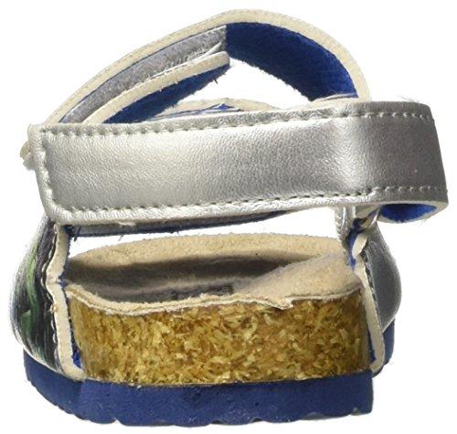 Marvel  S17145haz, Chaussures souple pour bébé (garçon) - argent - argent Argent