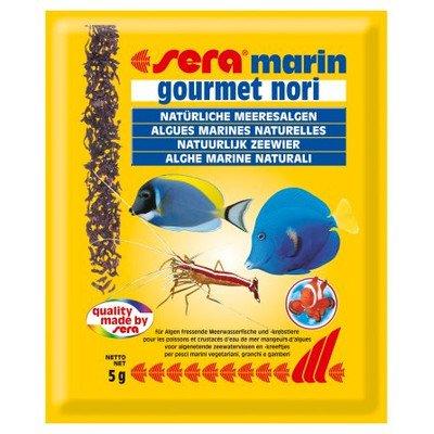 sera 00102 marin gourmet nori 5 g - der Leckerbissen für Algen fressende Feinschmecker
