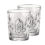 Best Red Old Fashioned Glasses - Carved Glass Wine Whiskey and White Wine Two-Piece Review