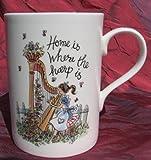 Home is Where the Harp Is - Bone China Mug