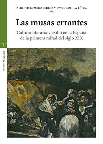 Las musas errantes (Estudios Históricos La Olmeda) por Alberto Romero Ferrer y David Loyola López (eds.)