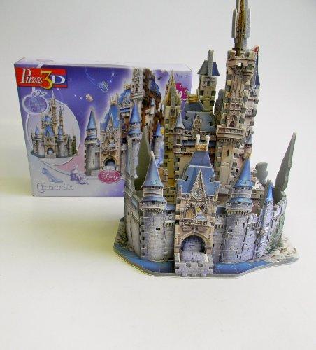 Disney – 200 Piece Cinderella Castle 3D Puzzle - 2
