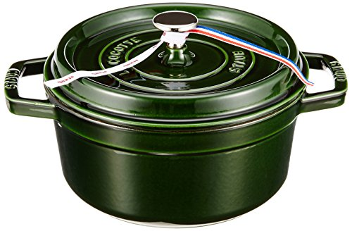 Staub 40509-354-0 Casseruola Tonda, 22 cm, Verde