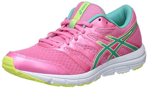 ASICS Gel Zaraca 4 GS C570N-1988, Sneaker Unisex-Adulto, Mehrfarbig (Pink 001), 39 EU